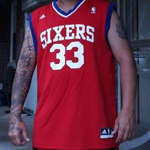 Adidas Sixers basketball Jersey size l